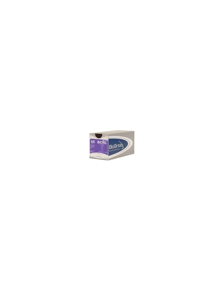 USP 2/0 - Bicril 3/8 circle reverse cutting 29,7mm