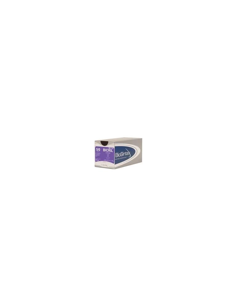 USP 4/0 - Bicril ½ circle round bodied, 22,2mm