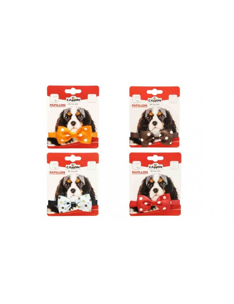 Colorful Dog Bow-ties with Polka Dots