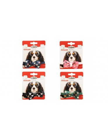Colorful Dog Bow-ties with Hearts