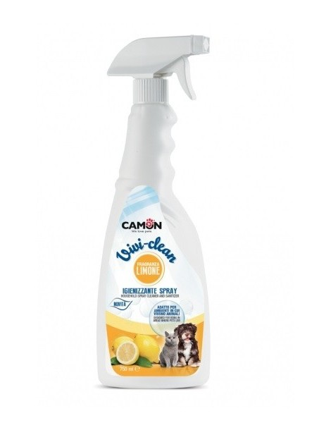 Lemon-scented household spray cleaner and sanitizer