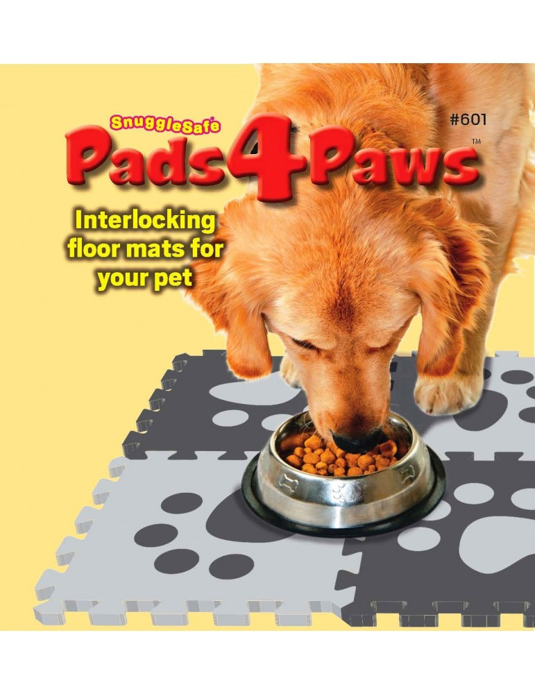 SnuggleSafe Pads4Paws Interlocking Foam Mats