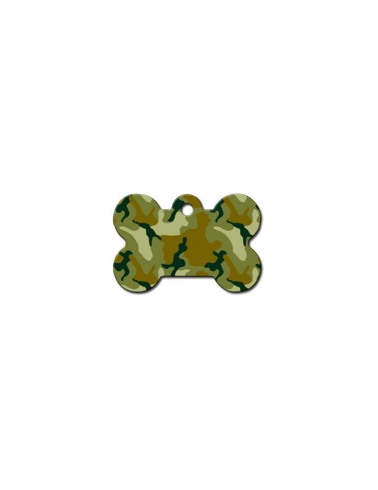 """Ταυτότητα κόκκαλο μεγάλο πράσινο """"Camouflage"""""""