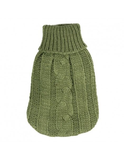 "Turtleneck Sweater ""Green Army"""