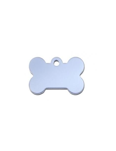 Light Blue Bone ID Tag