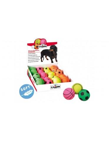 """""""SOFT"""" rubber sport ball"""