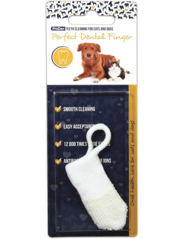 ProDen Οδοντόβουρτσα Δαχτύλου για σκύλους & για γάτες