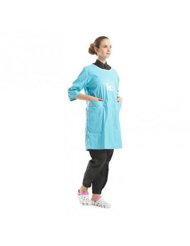 Large Waterproof Apron with Sleeves
