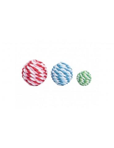 Πλεκτή μπάλα με κουδουνάκι