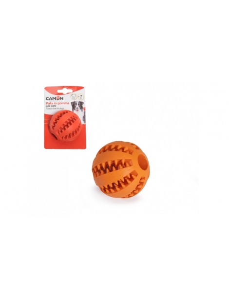 Πορτοκαλί Λαστιχένιο Μπαλάκι 7cm