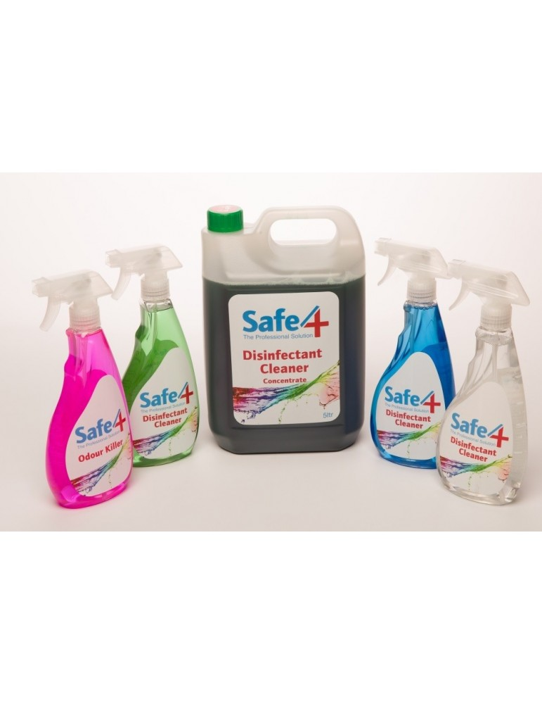 New! Safe4 Promo Pack