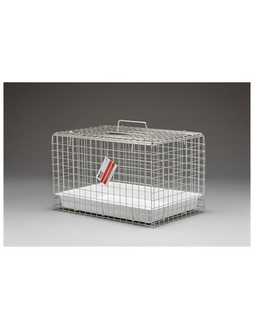 Cat Carrying Basket Stainless Steel