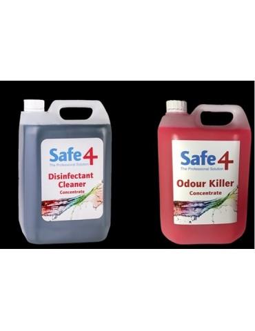 Safe4 Disinfectant Cleaner & Odour killer 5L