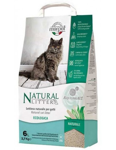 """Equilibriavet Natural Litter"" Άμμος Γάτας"