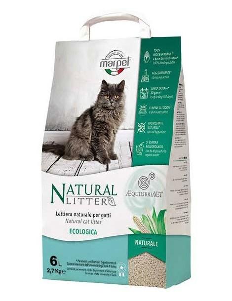 """""""Equilibriavet Natural Litter"""" Άμμος Γάτας"""