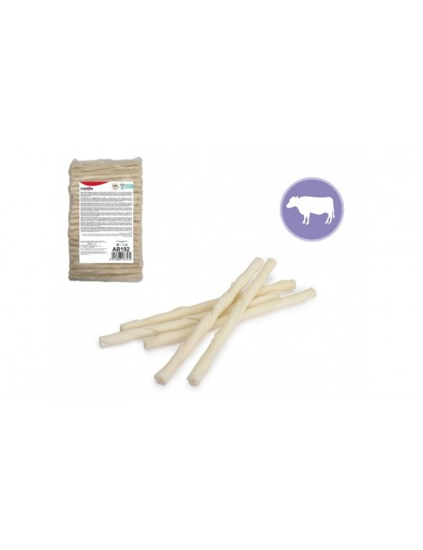 Twisted rawhide sticks