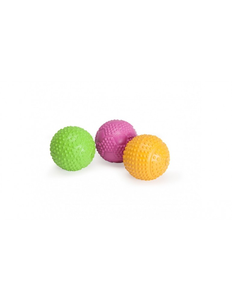 Solid rubber sport ball