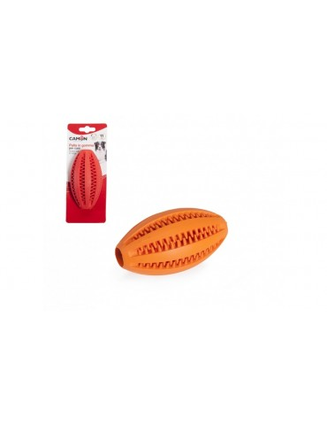 """Rubber toy """"Dental Fun rugby ball"""""""
