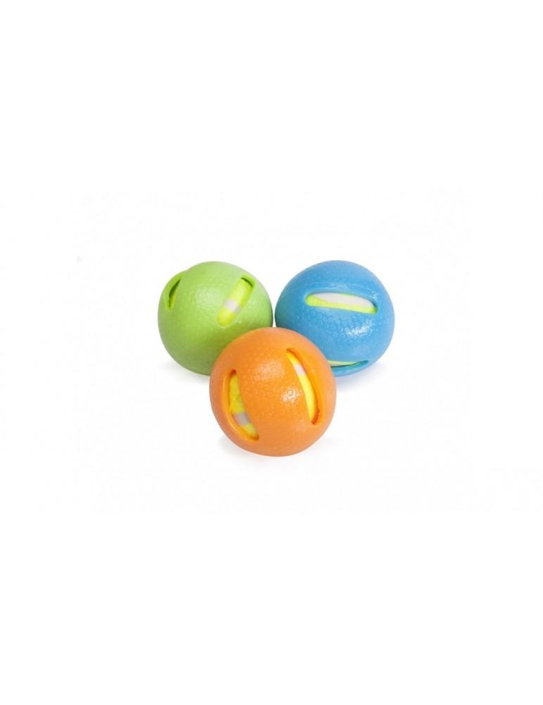 Tennis ball TPR coated