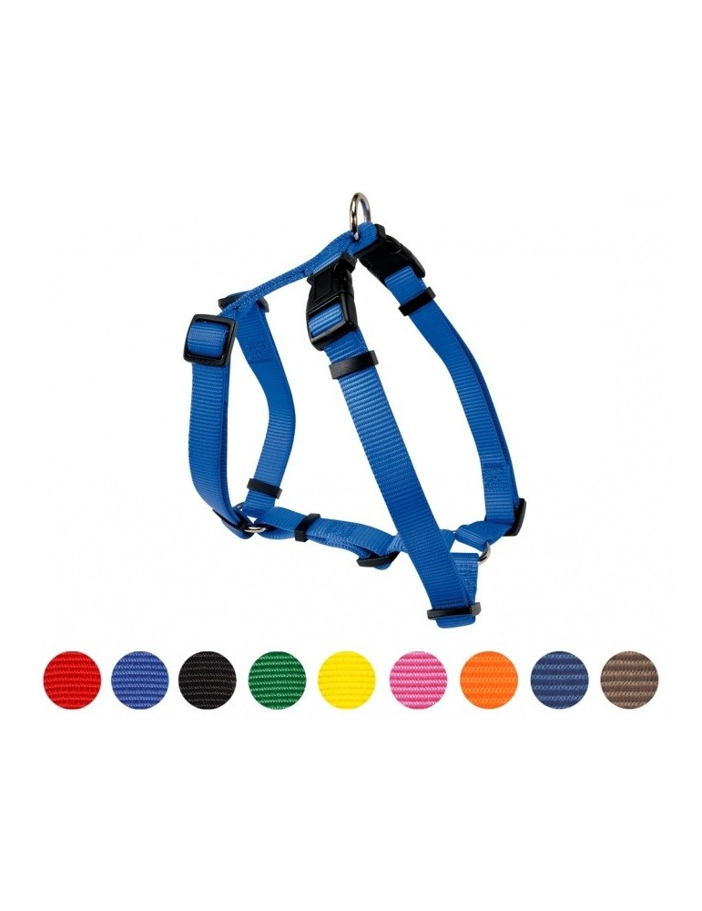 Nylon Harness with double adjustment 18 mm
