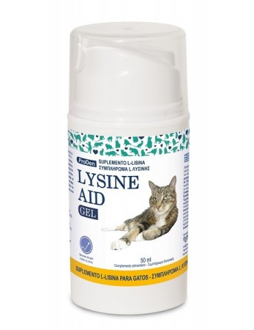 Proden Lysine Aid Gel Cat 50ml