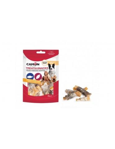 Σολομός και γλυκά πατατάκια-Σνακ Για Σκύλο