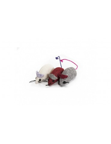 Colored juta sisal mice