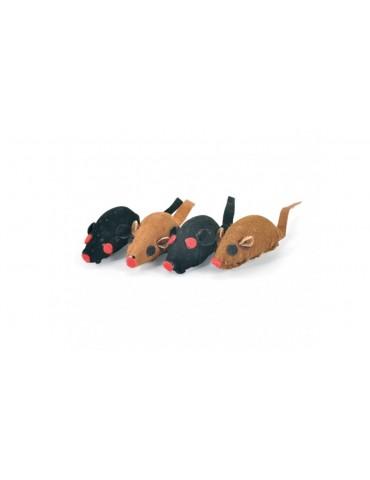 Mini fleece mice
