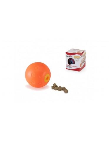 Vinyl treat ball for cats