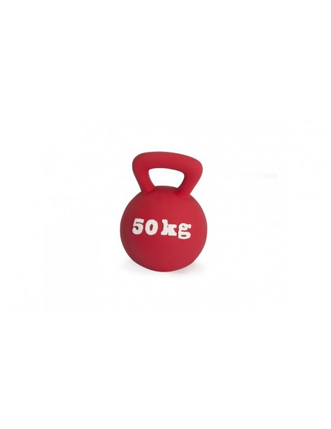 Latex toy with squeaker - Gym dumbbell
