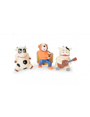Mix of latex animal toys
