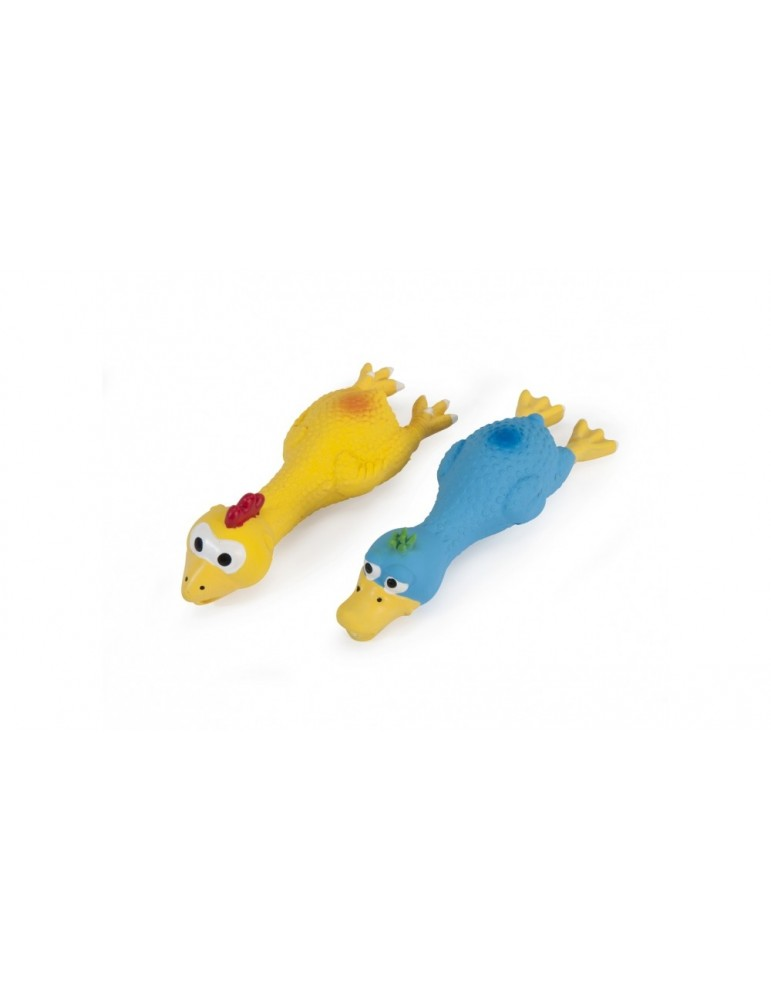 Latex toys Chicken and Duck with Squeaker