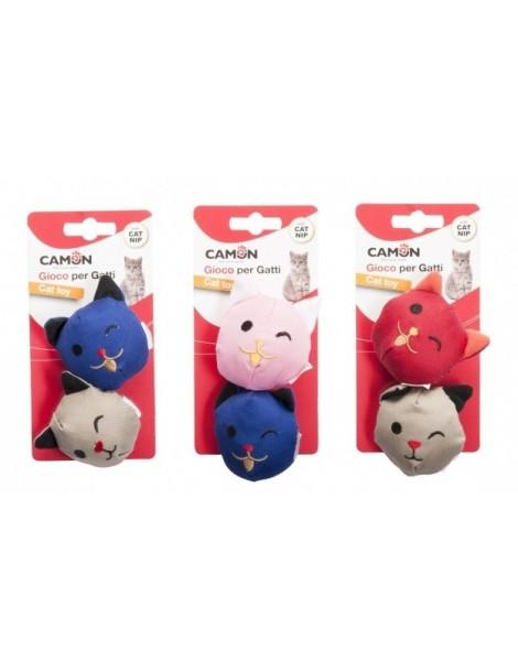 """""""Emoticat"""" Cat toy with catnip"""
