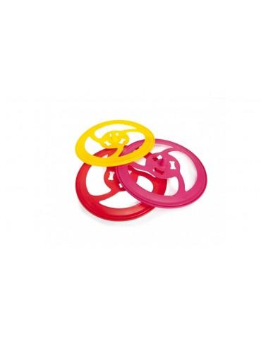 Coloured frisbee