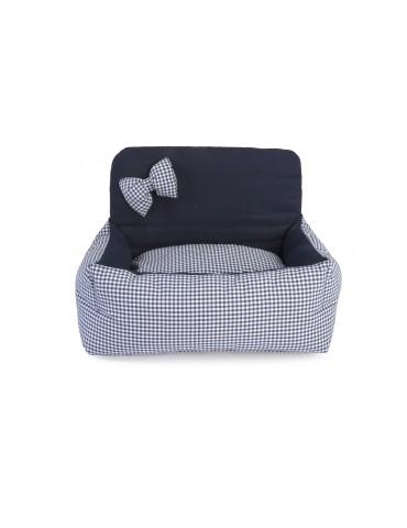 "Little Sofa ""Tartan Blue"""