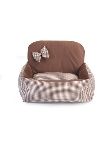 "Little Sofa ""Tartan Brown"""