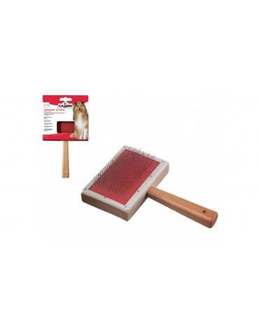 Wooden slicker brush