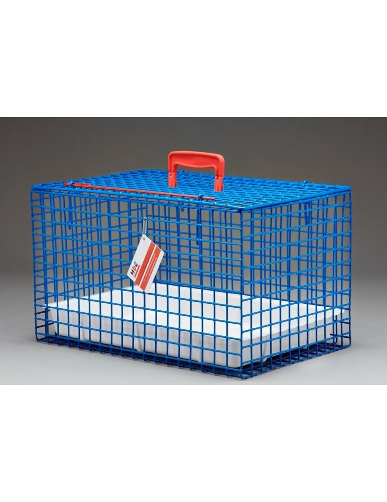 Wire Cat Carrier Basket Plastic Coated