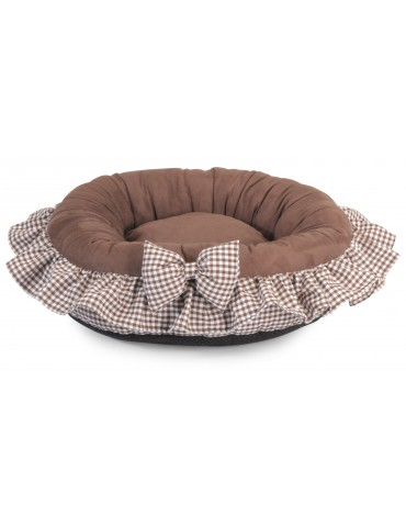Round Soft Brown Bedhouse