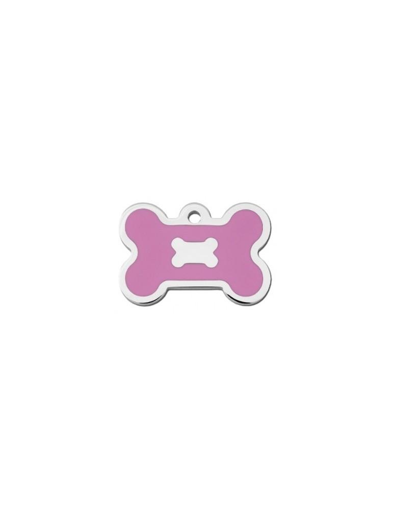 Ταυτότητα κόκκαλο ροζ με διακοσμητικό κόκκαλο
