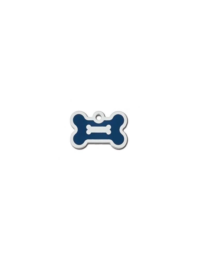 Ταυτότητα κόκκαλο μπλε με διακοσμητικό κόκκαλο