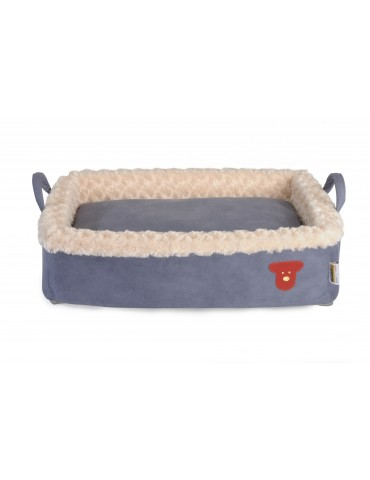 """Mask"" Azzurro Pet Bed"