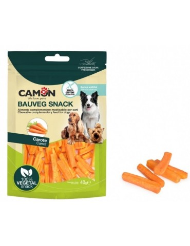 Crispy Carrot Dog Treats