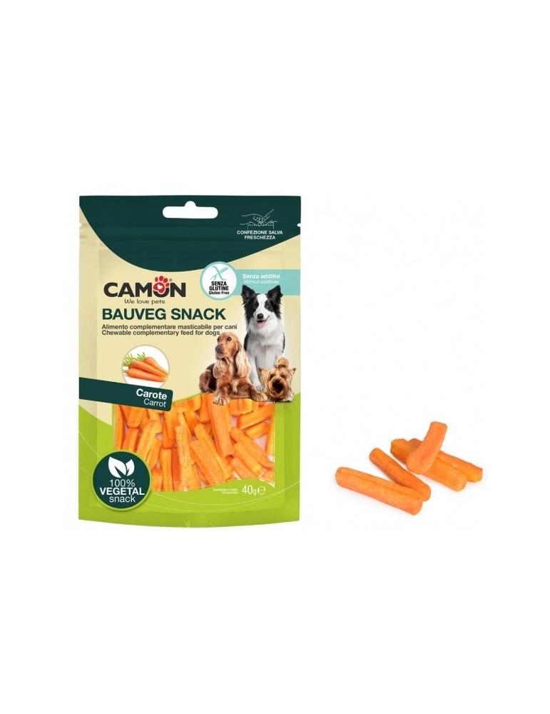 Crispy Carrot Dog Treats