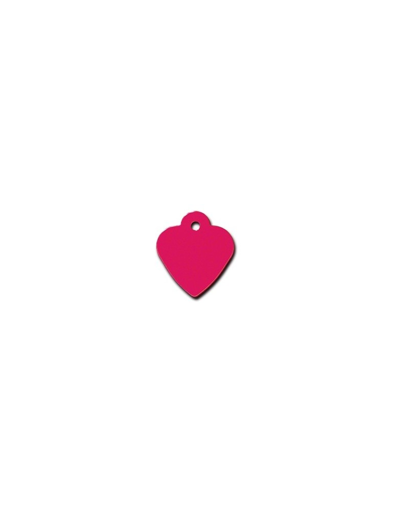 Red Heart ID Tag  Small