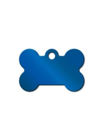 Small Bone Blue PVD ID Tag