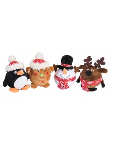 Χριστουγεννιάτικα Βελούδινα Παιχνίδια
