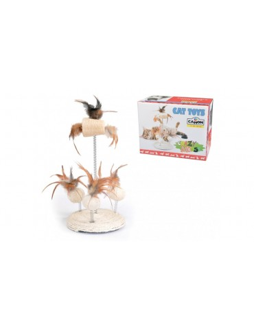 "Cat's Toy ""Jute & Loofah"""
