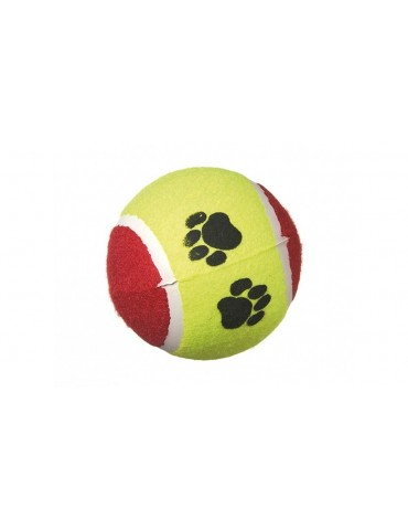 Colourful tennis ball