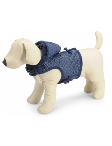 Winter Dog Harness With Hood